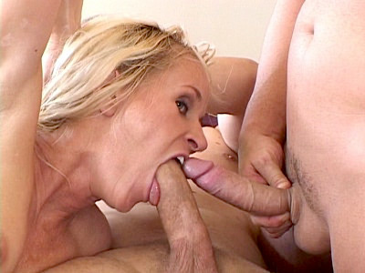 Blonde Mature Wife Jousting Dicks